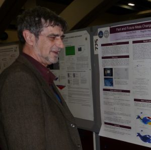 Graham at the AGU conference in 2011.